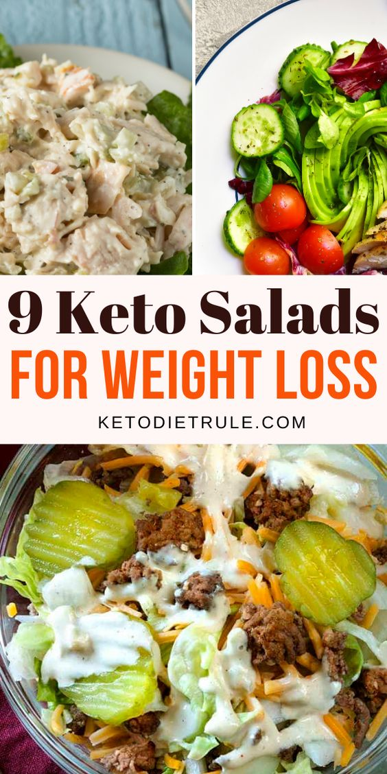 9 Protein-Packed Keto Salad Recipes for Weight Loss