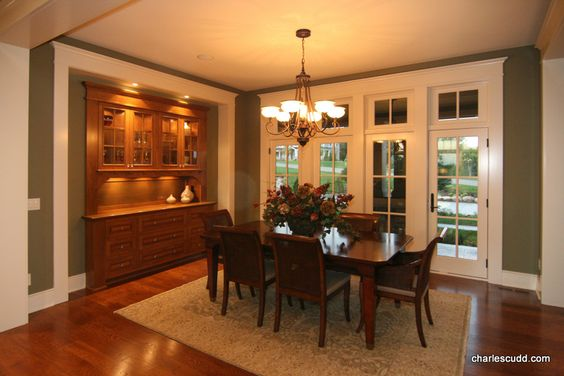dining room with built in hutch dream home pinterest home built