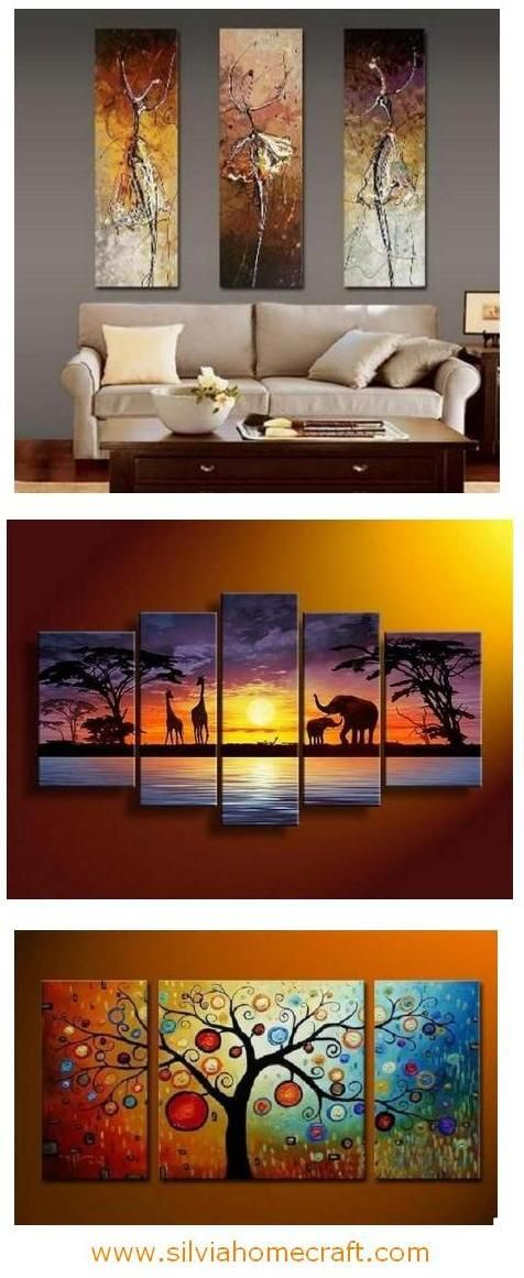 Ballet Dancer Painting Bedroom Wall Art Canvas Painting