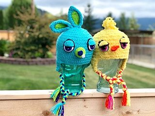 Ravelry: Ducky Inspired Toy Story 4 pattern by Hats By Tracy