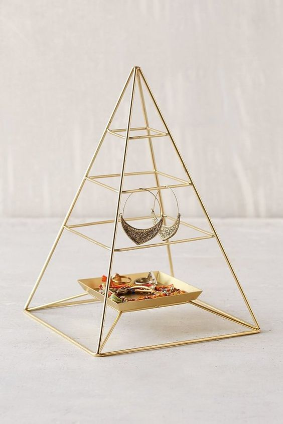 Magical Thinking Pyramid Jewelry Stand
