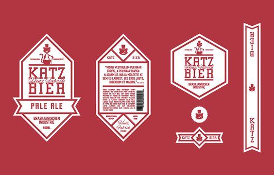 Katz Bier - Henz Frabrik on Packaging Design Served