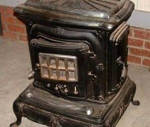 Stove, Antiques and America on Pinterest
