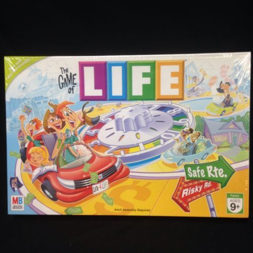 The Game of Life Family Board Milton Bradley 2007 SEALED College Career New NIP | eBay #gameoflife #life