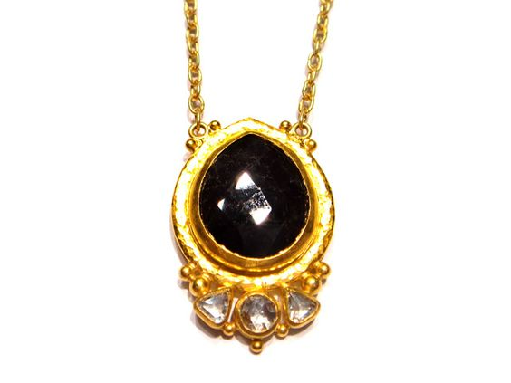 Gurhan Black Diamond Necklace