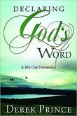 Free Book - Declaring Gods Word, by Derek Prince, is free in the Kindle store and from Barnes & Noble, Kobo and ChristianBook, courtesy of Christian publisher Whitaker House.