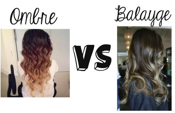 Ombre vs balayge we all know what ombre hair is but have for What does ombre mean