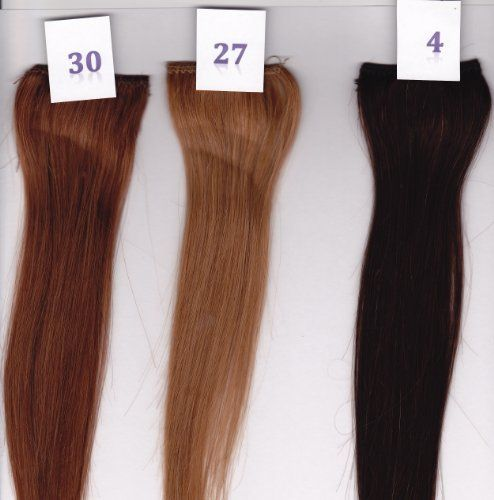 Remy Silky Straight. 100% Human Hair Clip In Extensions. Ready To Wear ...