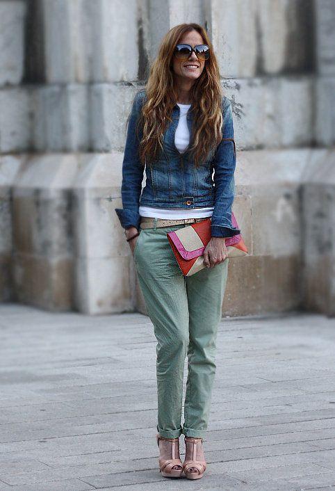 Pastel  , Bershka in Jackets, Blanco in Clutches, Zara in Pants, Zara in Heels / Wedges