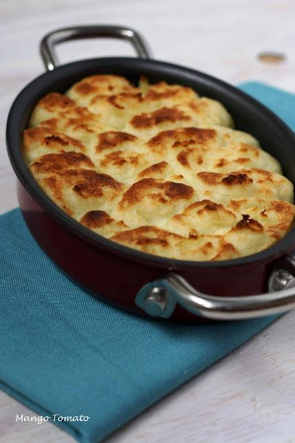 shepard pie. could be made with beef or other ground meat as well