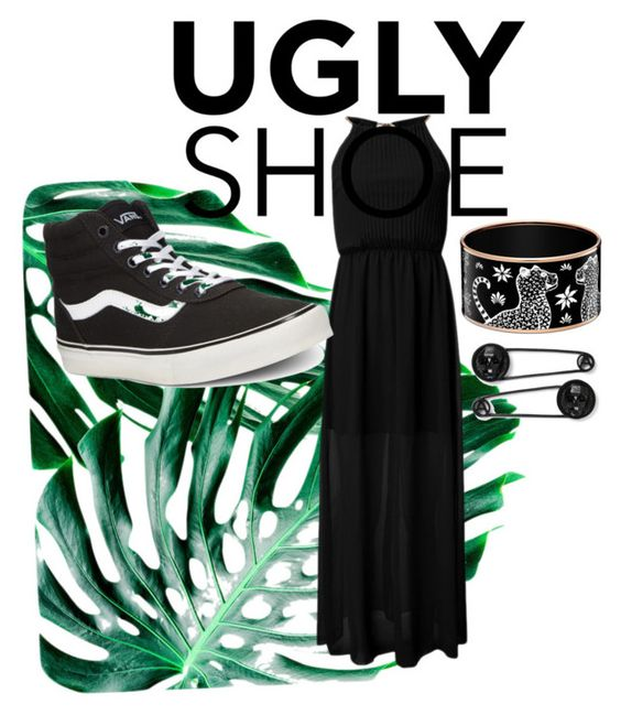"""""""so ugly"""" by familywelch ❤ liked on Polyvore featuring WALL and Vans"""