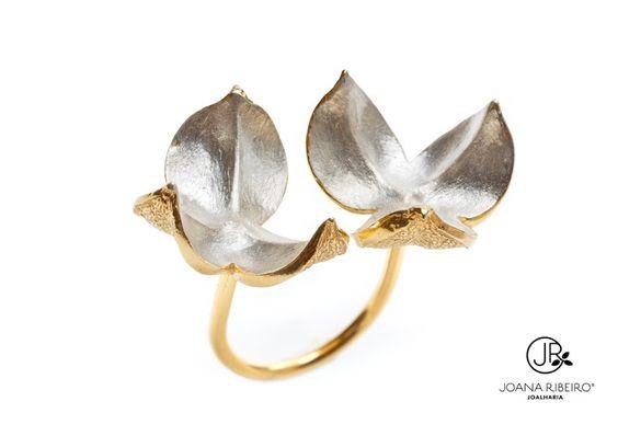Joana Ribeiro_Lilium_Anel em prata e em prata dourada
