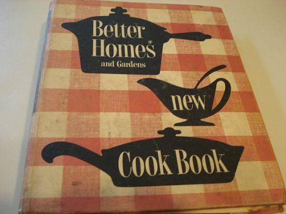 Vintage better homes and garden cookbook gardens home - Vintage better homes and gardens cookbook ...