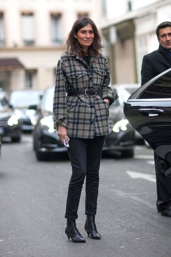 Street Style - Street Style Haute Couture Spring 2014 - Harper's BAZAAR Winter 2014