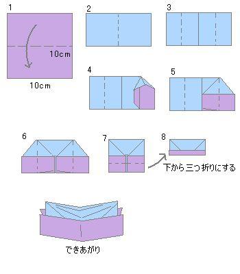 簡単 折り紙 折り紙で作る箸置き : jp.pinterest.com