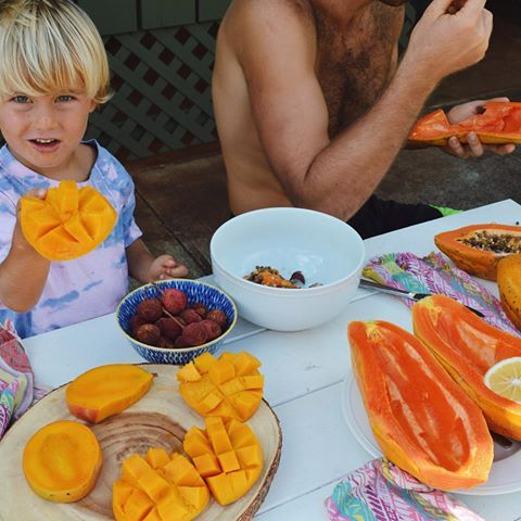 Ellen Fisher Ellenfisher Instagram Photos And Videos Food Raw Vegan Papaya