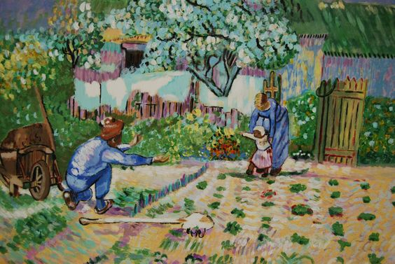 Les premiers pas (d'après Van Gogh) de la boutique TableauxFPolisano sur Etsy