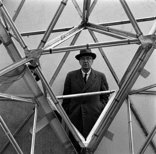 Buckminster Fuller 1953   Bucky Fuller Forever: Salute to an American Visionary   LIFE.com