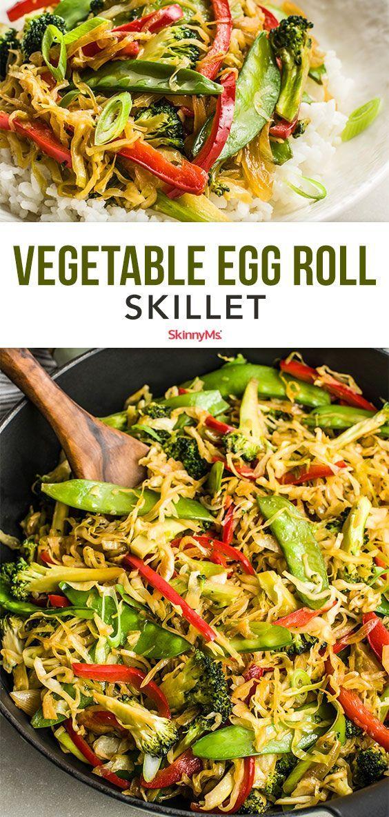 Vegetable Egg Roll Skillet