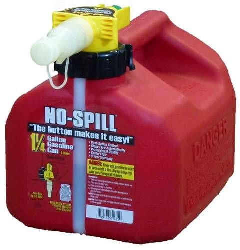 No Spill Gas Can 1415 O Reilly Auto Parts Gas Cans Spills