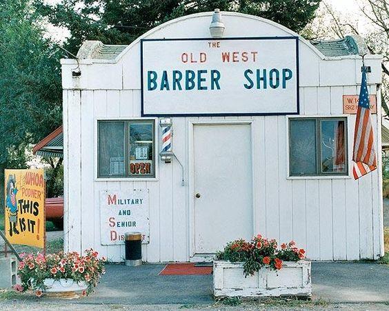 Old west barber shop vintage roadside stops pinterest barber