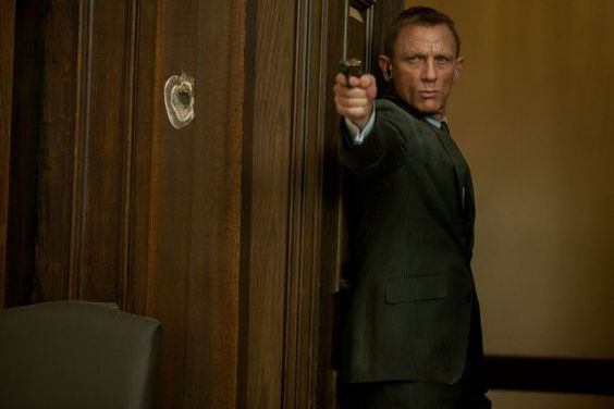 007 doing what he does best