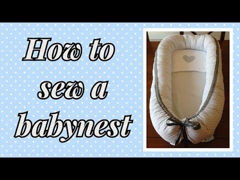 Diy Babynest Som Giver Tryg Nattesovn Baby Nest Pattern Baby