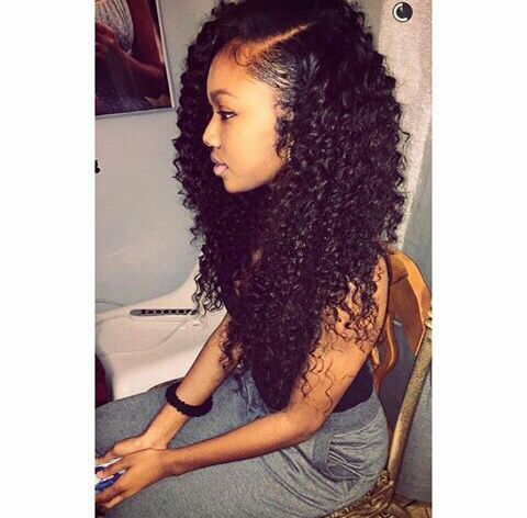 39+ Afro sew in hairstyles ideas