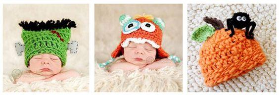 Halloween Crochet Hats