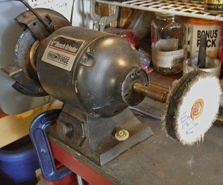Making an Inexpensive Bench Polishing Machine