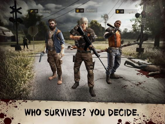 The Walking Dead: No Man's Land for IOS Free | Addicting Games FHD - Free Games, Top Paid Games and Cheats Free Download