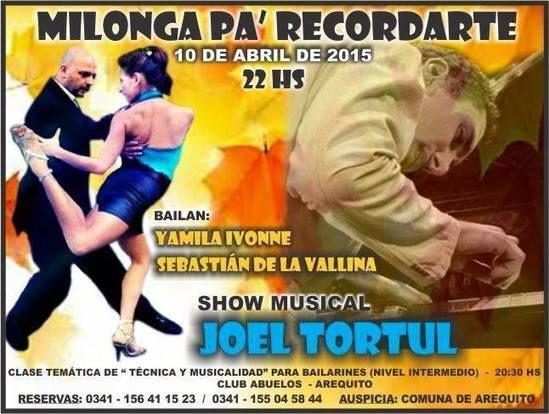 Arequito: Milonga Pa' Recordarte