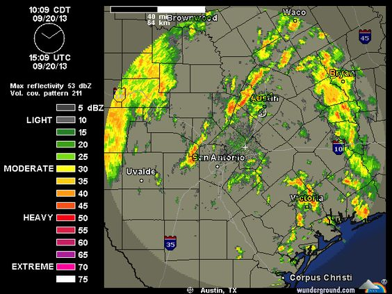 2013-09-20 Austin-San Antonio Radar | Weather Underground
