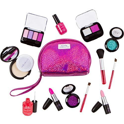 Pixiecrush Pretend Play Makeup Kit Designer Girls Purple Https Www Amazon Com Dp B01ia6uzn2 Ref Cm Pretend Makeup Play Makeup Pretend Makeup For Toddlers
