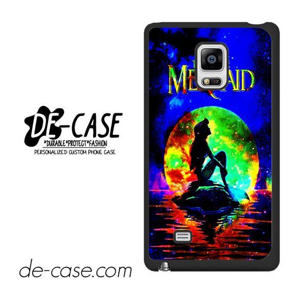Ariel Little Mermaid Moon DEAL-904 Samsung Phonecase Cover For Samsung Galaxy Note Edge
