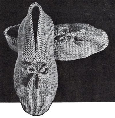 Knitting Pattern Central Men s Slippers : NEW! Mens Knitted Slippers pattern from Hats-Mittens-Socks, Coats & ...