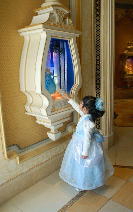 シンデレラ風のドレス。ディズニーランドに遊びに行くときに縫いました。 #Cinderella #dress #girl    #Disney #princess