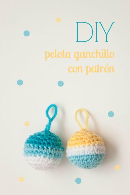 Ganchillo patrones amigurumi and marte on pinterest - Bolas de ganchillo ...