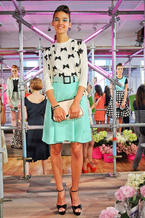 Kate Spade Spring 2013 Ready-to-Wear Runway - Kate Spade Ready-to-Wear Collection - ELLE