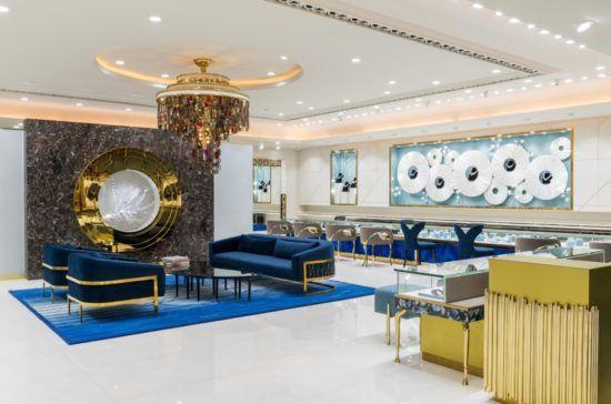 Hsj Jewellery Showroom Interior Design