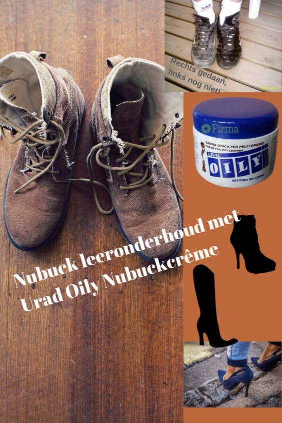 Urad Oily Nubuck crême 200 gram speciaal voor opgeruwd leer