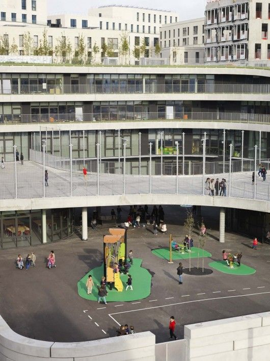Primary School For Sciences And Biodiversity / Chartier Dalix Architectes/ © Cyrille Weiner