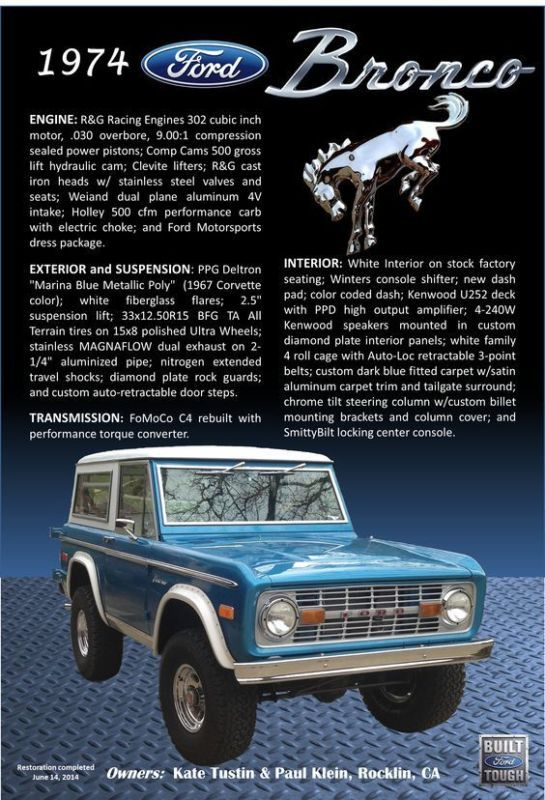 5 Classic Cars Named After Horses Ford Bronco Old Ford Bronco