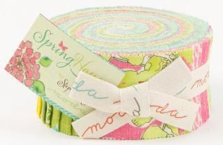 Spring house jelly roll by Stephanie Ryan  for Moda fabric