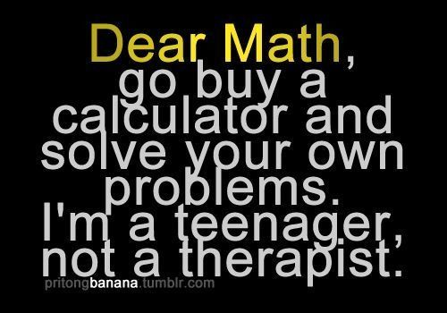 Math does need to solve its own problems
