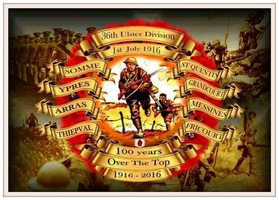 36th Ulster Division Ulster Irish History Remember The Fallen