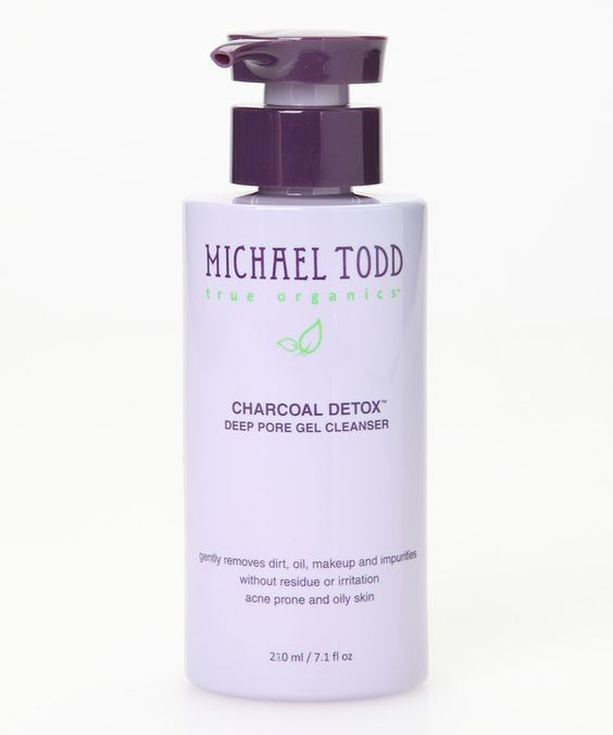 Look at this MICHAEL TODD true organics Charcoal Detox Deep Pore Gel Cleanser on #zulily today!