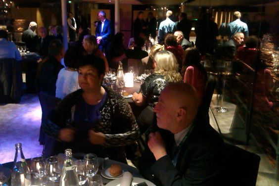 At Gala StemGem's Dinner!