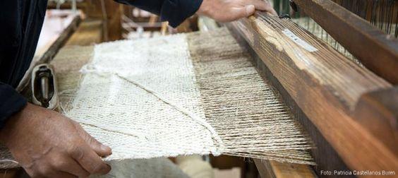 Tejeduría y cestería artesanal en LOS MUISCAS