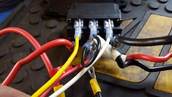 Harbor Freight Badlands 2500 Winch Switch Mod Remote Reciever Removal Winch Atv Winch Remote